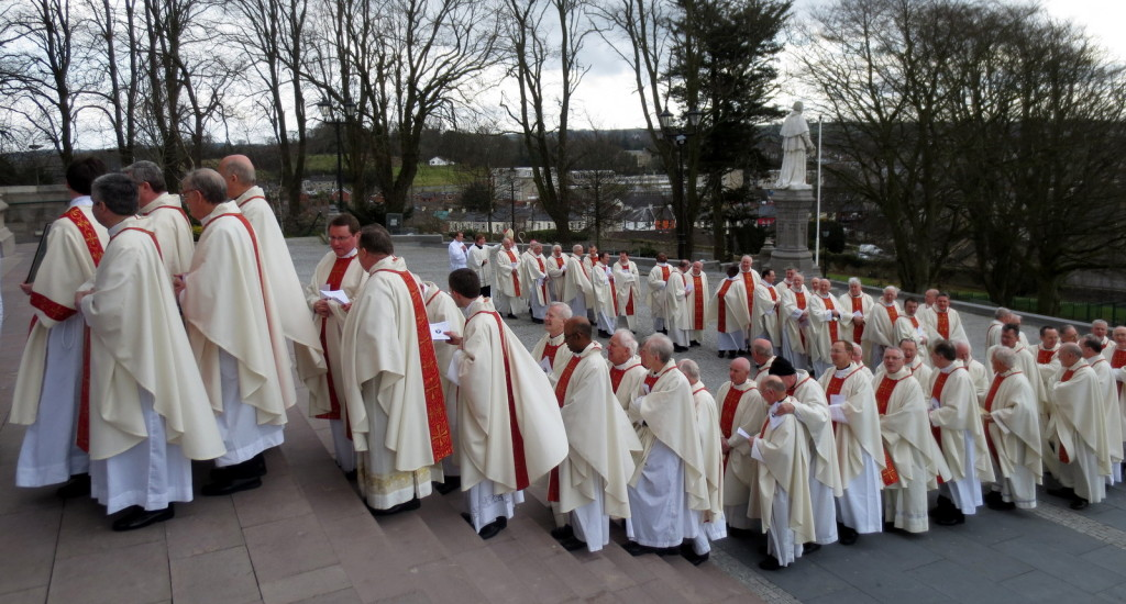 Chrism Mass Priests