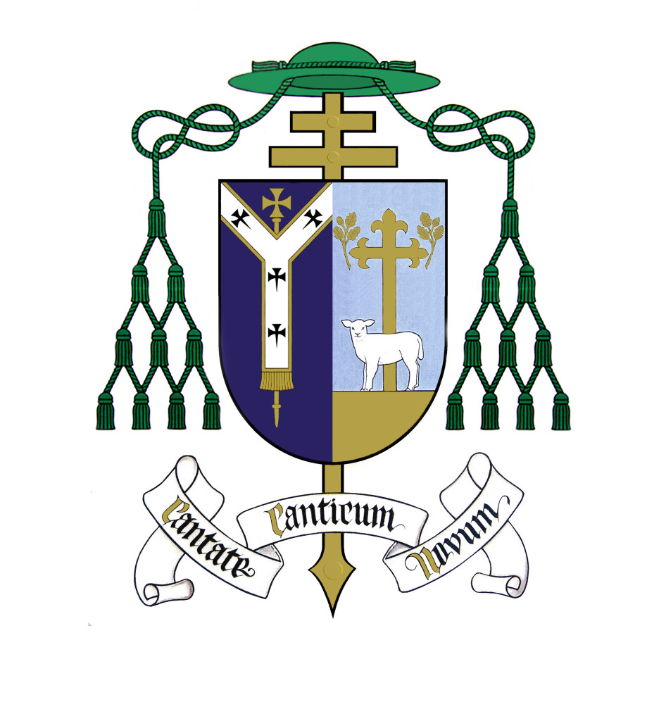 Archbishop Eamon Martin - Coat of Arms with Pallium