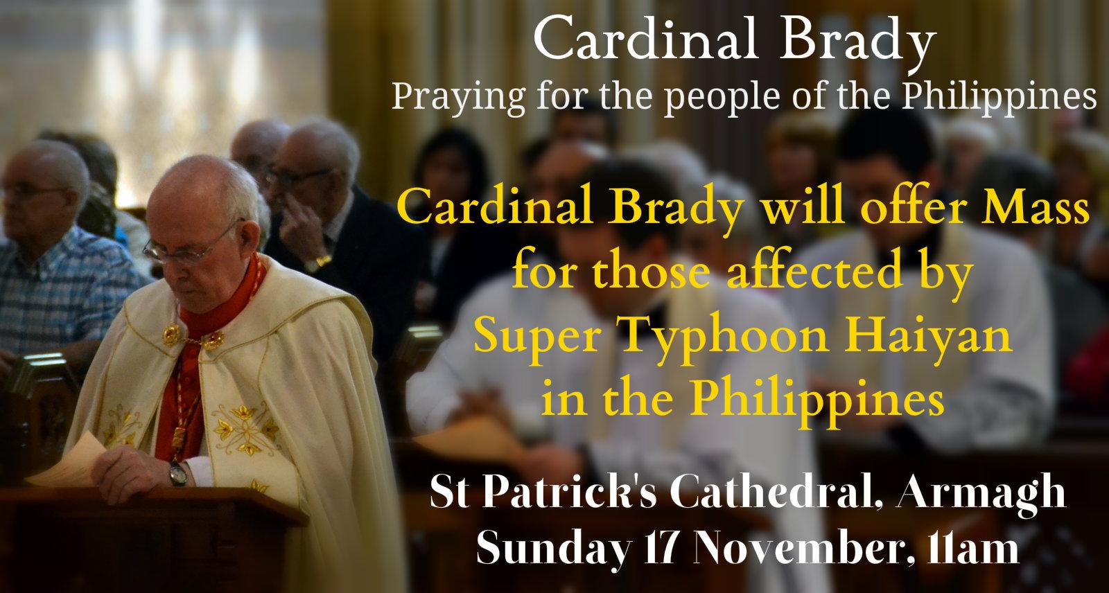Praying cardinal