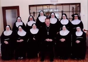 Ab Eamon with Carlow Nuns