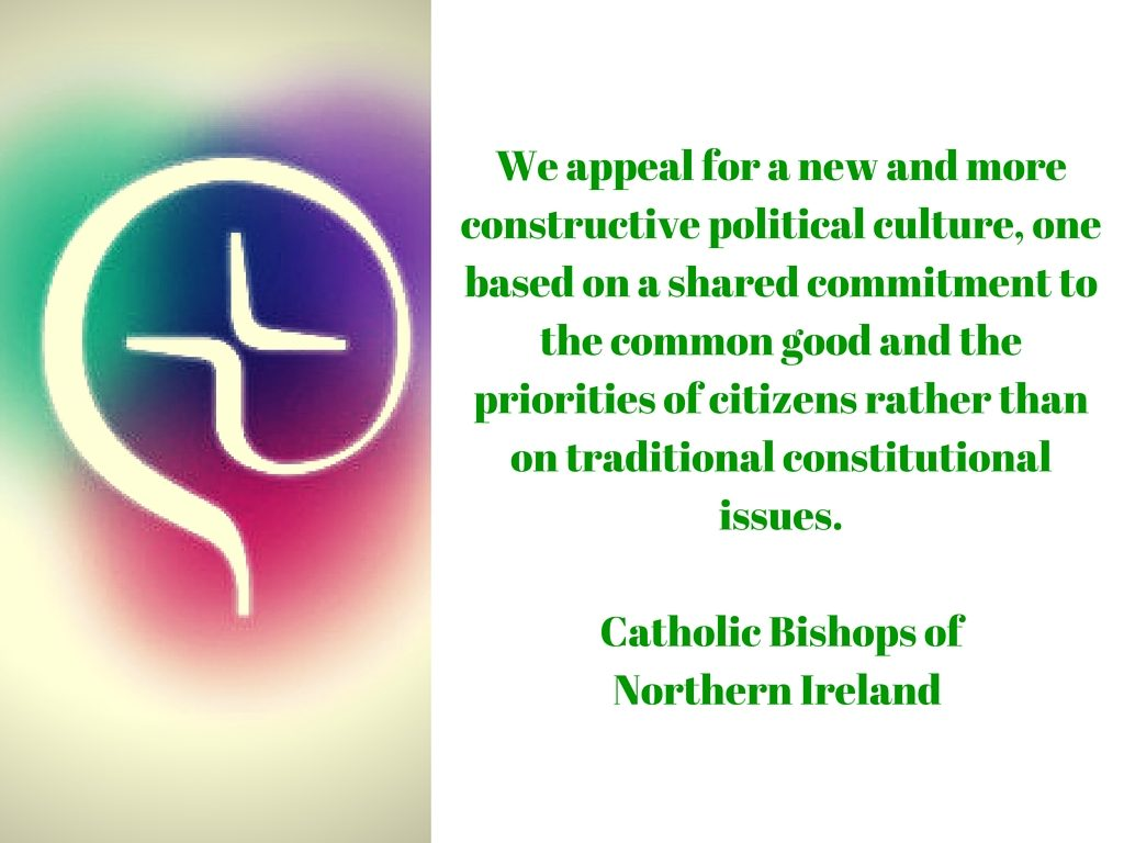 NI Bishops Pastoral Reflection 2