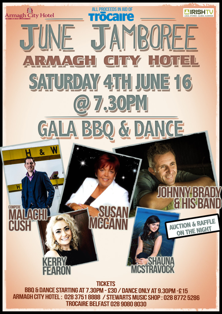 Trócaire's June Charity Extravaganza @ Armagh City Hotel
