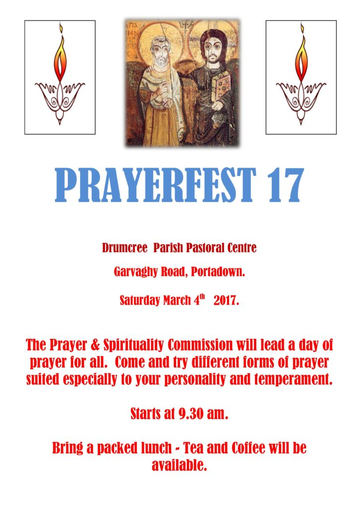 Prayerfest - Day of Prayer @ Drumcree Pastoral Centre Portadown