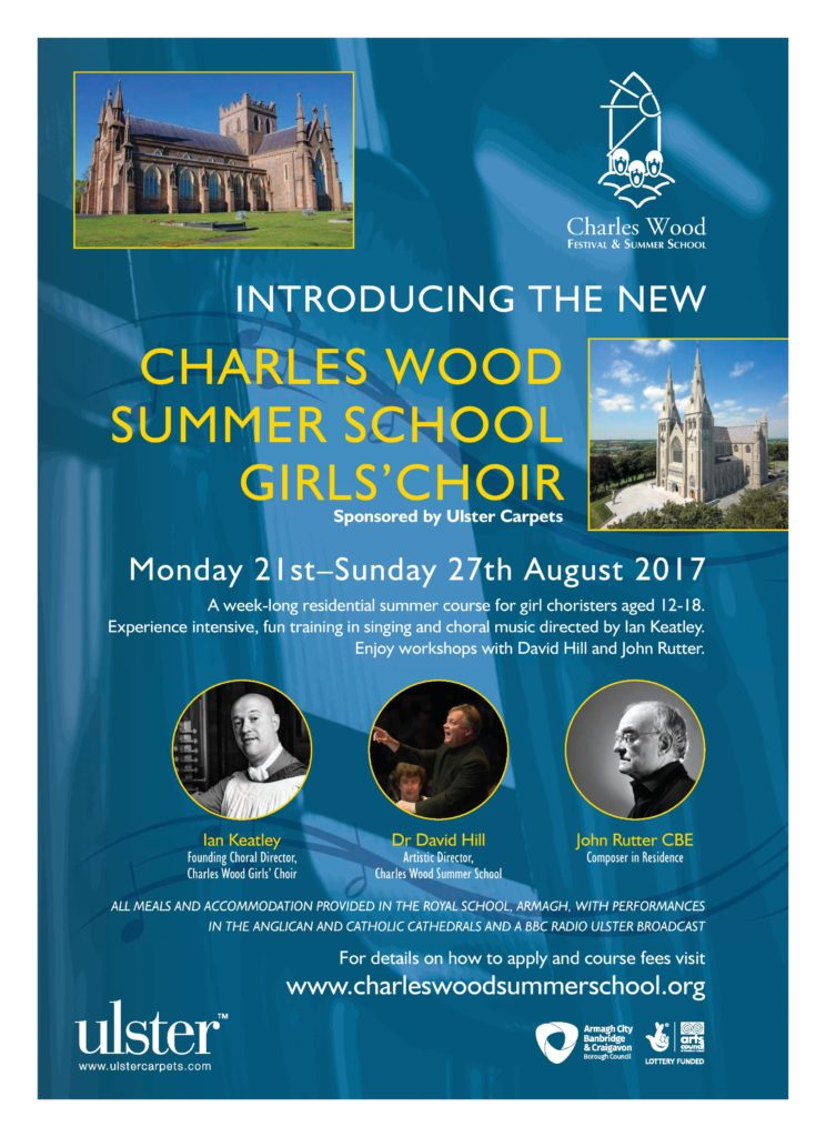 Charles Wood Summer School for Girls @ Armagh