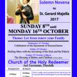 St Gerard Majella Solemn Novena @ Holy Redeemer Church | Dundalk | County Louth | Ireland