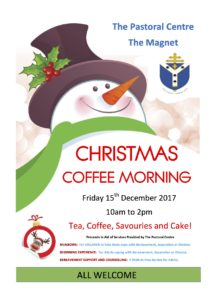 Christmas  Coffee Morning @ Armagh Diocesan Pastoral Centre, Dundalk