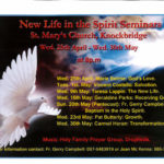 New Life in the Spirit Seminars @ St Mary's Church | Knockbridge | County Louth | Ireland