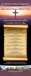 6 Sundays of Lent @ St Patrick's Church, Dungannon