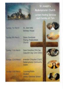 Lenten Healing Services - St Joseph's Redemptorist Church
